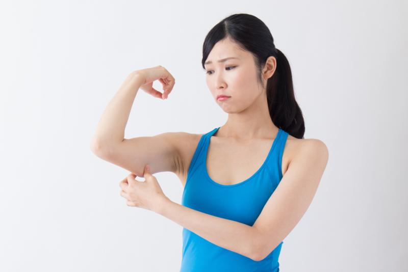 筋 二の腕 トレ 痩せる