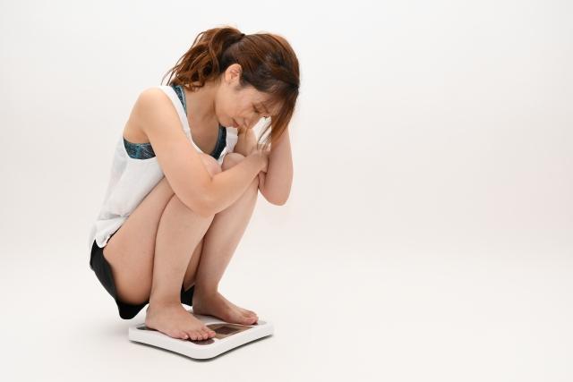 生理 後 体重 減ら ない